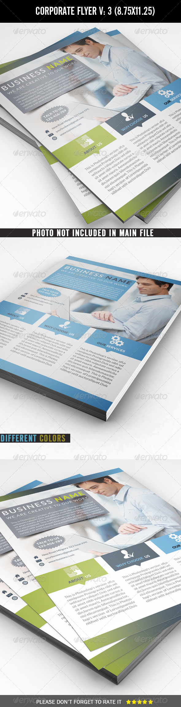 GraphicRiver Corporate Business Flyer 7177101
