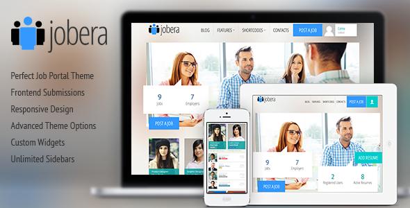Jobera - Job Portal WordPress Theme - Directory & Listings Corporate