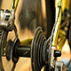 Man Training on Bicycle Trainer - VideoHive Item for Sale
