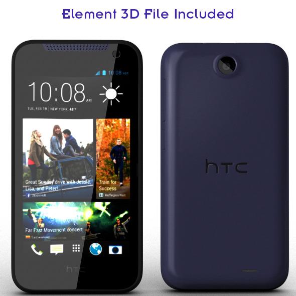 HTC Desire 310 - 3DOcean Item for Sale