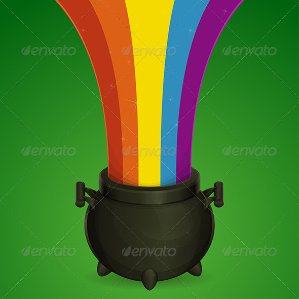GraphicRiver Bowler and a Rainbow 7177981