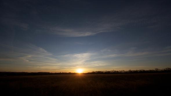 Wide Open Range Sunrise