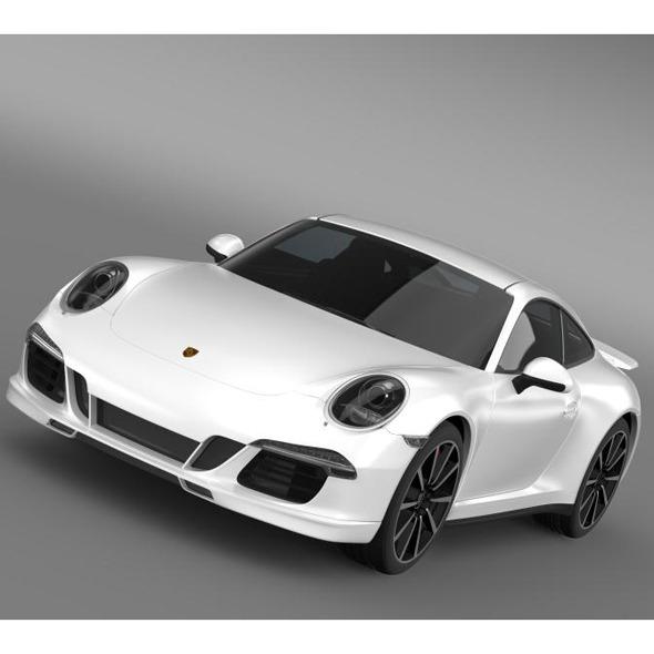 Porsche 911 Carrera 4s Aerokit Cup - 3DOcean Item for Sale