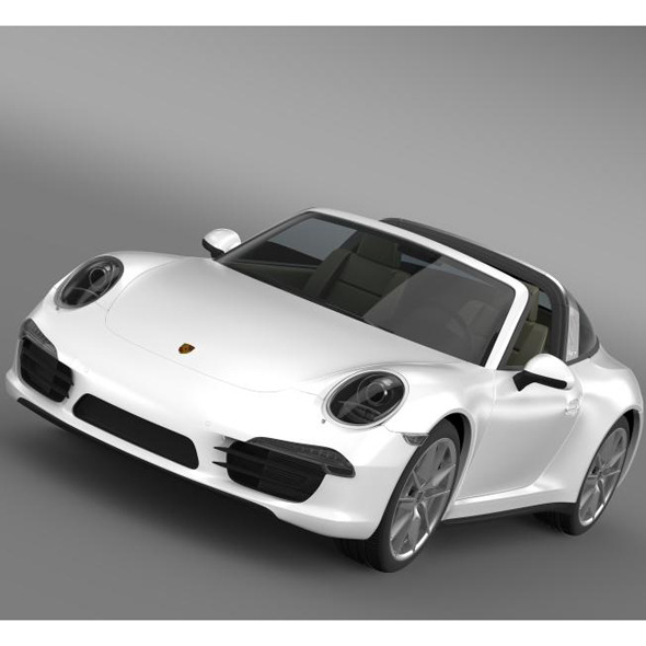 Porsche 911 Targa 4 2014 - 3DOcean Item for Sale