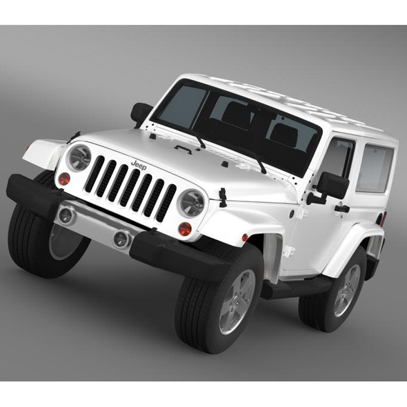 Jeep Wrangler 2011  - 3DOcean Item for Sale