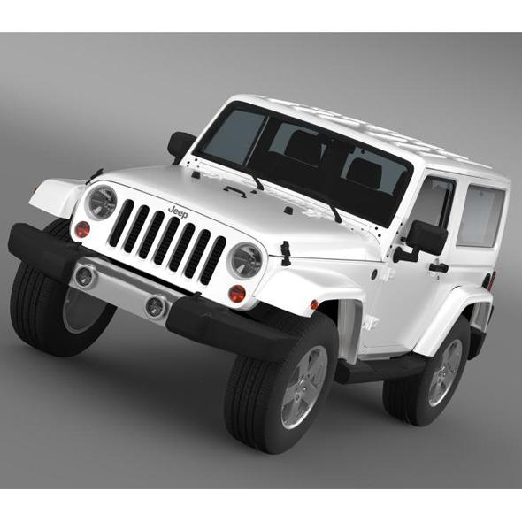 3DOcean Jeep Wrangler 2011 7178110