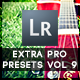 30 Extra Pro Presets Vol  9 - GraphicRiver Item for Sale