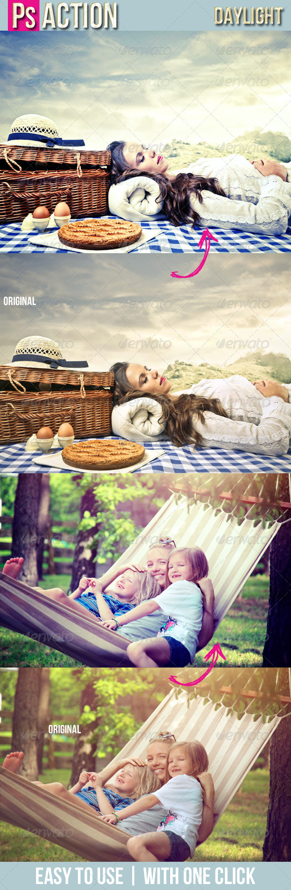 GraphicRiver Daylight PS Action 22 7180862