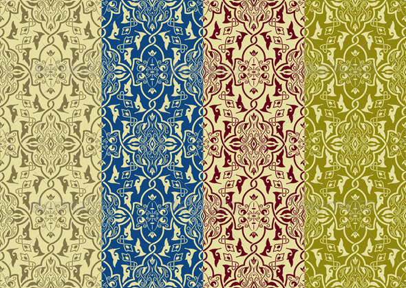 GraphicRiver Seamless Patterns 7180949