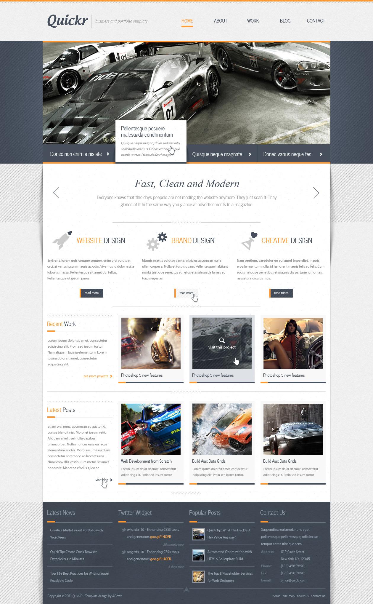 Quickr - Multipurpos Business/Personal Portfolio