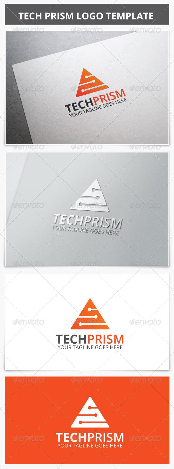 GraphicRiver Tech Prism Logo 7181254