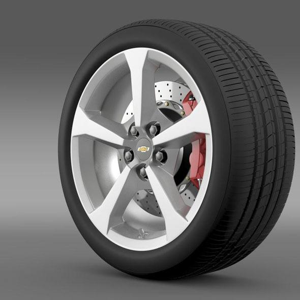 3DOcean Chevrolet Camaro Convertible 2014 wheel 7182607