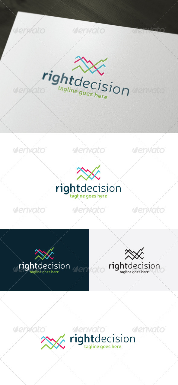 GraphicRiver Right Decision Logo 7182739
