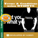 Terms & Conditions using WYSIWYG - CodeCanyon Item for Sale