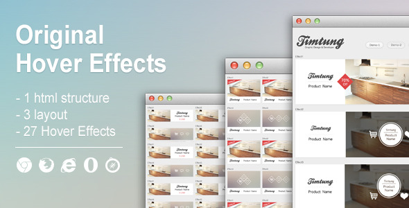 CodeCanyon Original Hover Effects 7173937