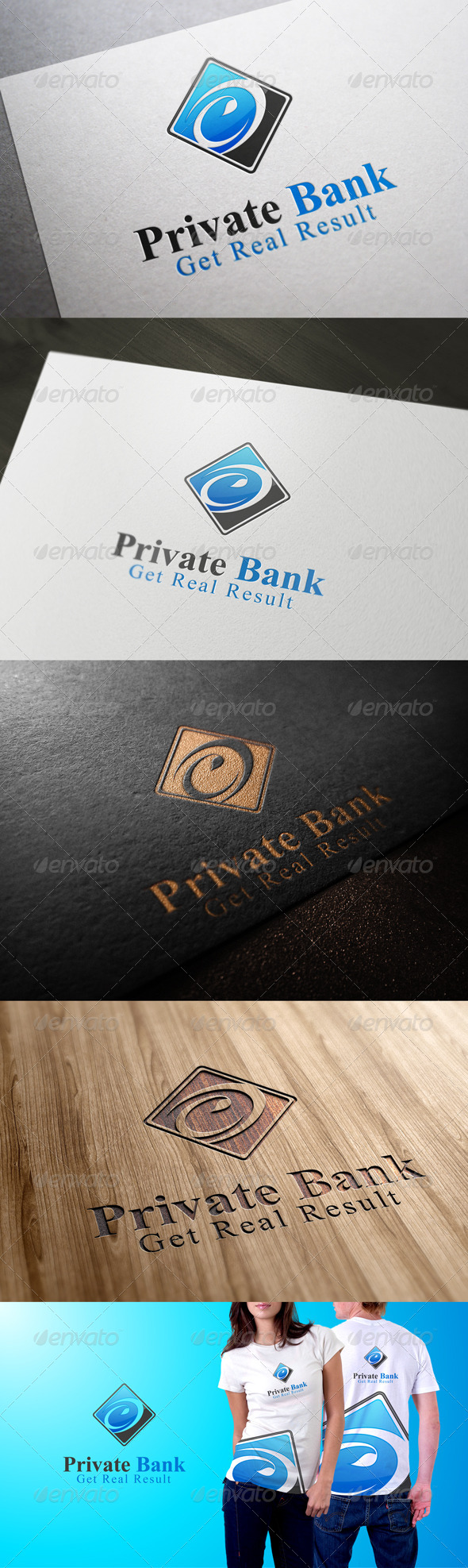 GraphicRiver Private Bank 7184254