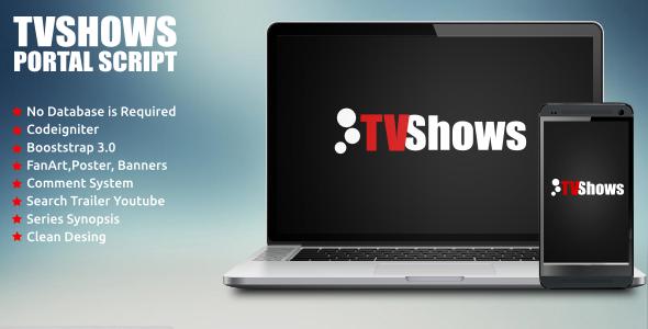 CodeCanyon TVShows Portal Script 7093872