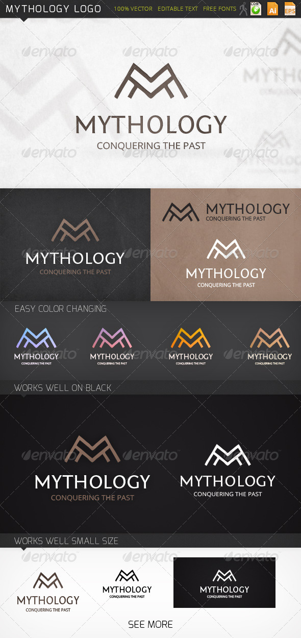 GraphicRiver Mythology Logo 7185204
