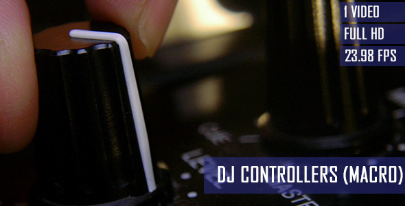 DJ Adjusting Mixer Controllers At Nightclub