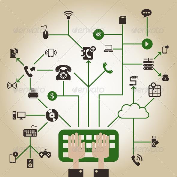 Electronics a Network