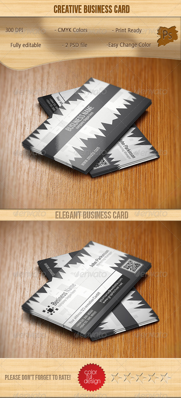 GraphicRiver Creative Business Card 7185519
