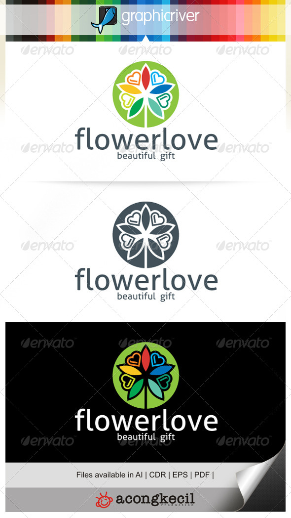 GraphicRiver Flower Love V.4 7185658