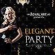 Flyer Elegant Party - GraphicRiver Item for Sale
