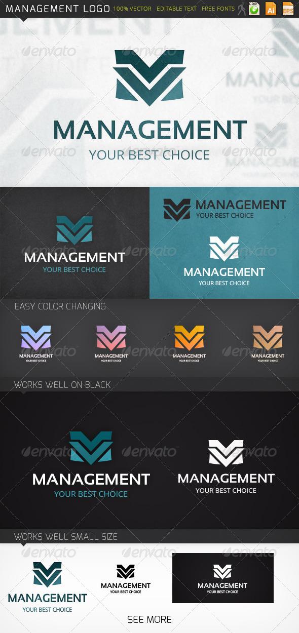 GraphicRiver Management Logo 7186617