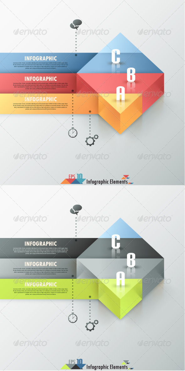 GraphicRiver Modern Infographic Options Banner Two Versions 7186833