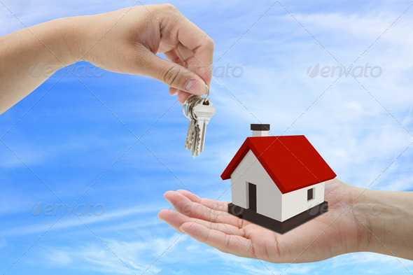 buying house - Stock Photo - Images
