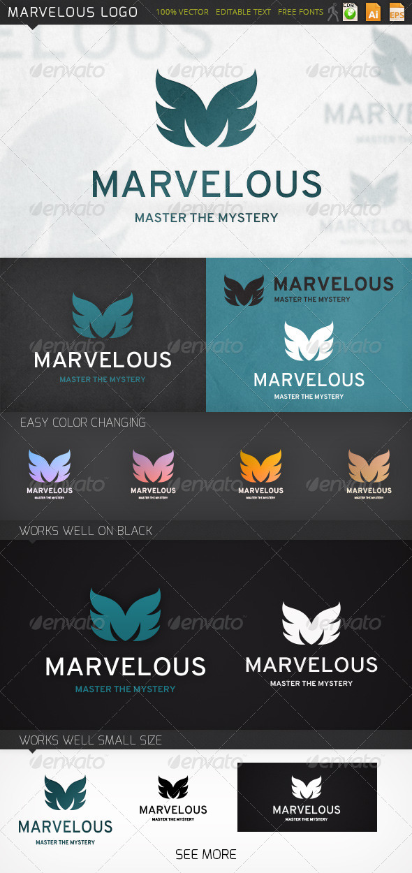 GraphicRiver Marvelous Logo 7186904