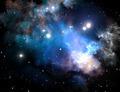 Blue space star nebula - PhotoDune Item for Sale