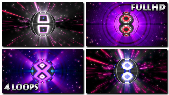 VJ Space Ball 4-Pack