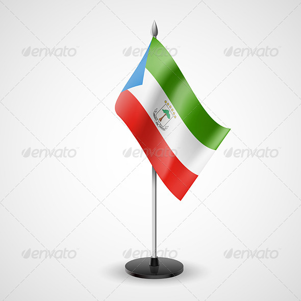 GraphicRiver Table Flag of Equatorial Guinea 7188948