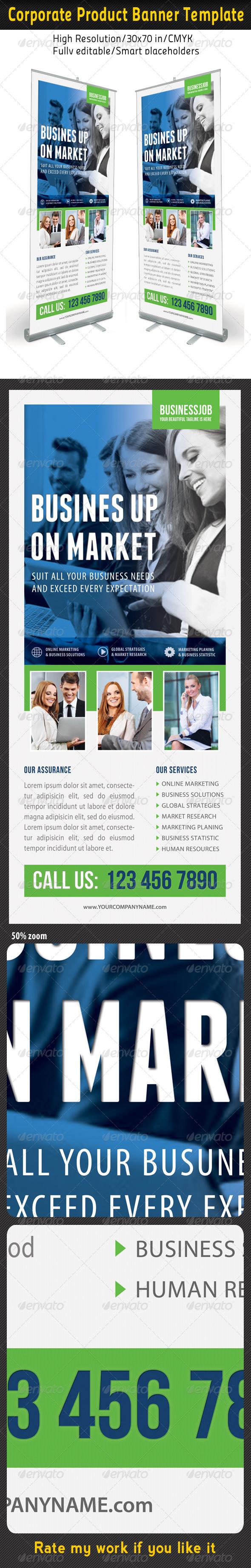 GraphicRiver Corporate Multipurpose Banner Template 50 7189075