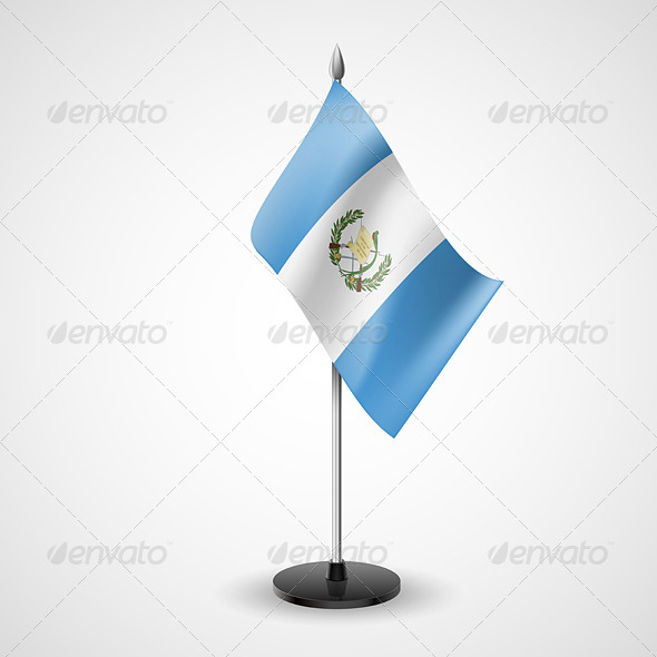 GraphicRiver Table Flag of Guatemala 7189706