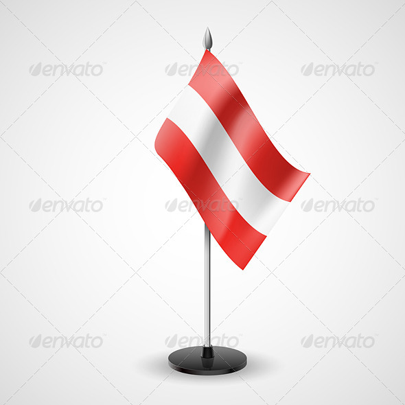 GraphicRiver Table Flag of Austria 7190400