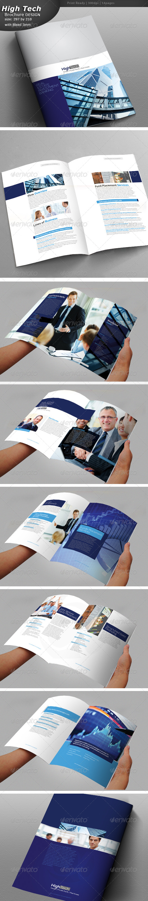 GraphicRiver Corporate Brochure Design 7190408