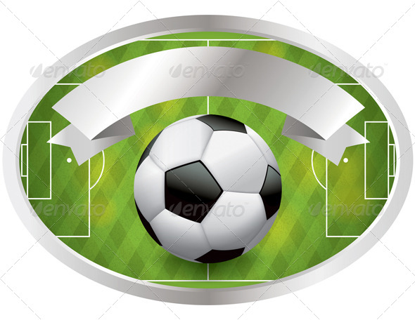 Soccer Football Badge and Banner
