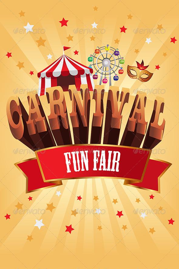 GraphicRiver Carnival Poster 7159701