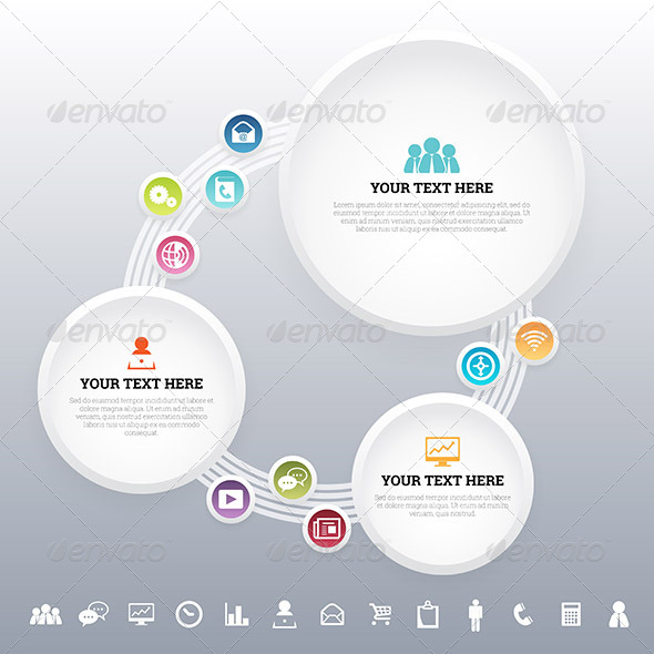 GraphicRiver App Media Concept Background 7190836