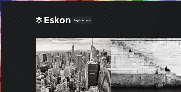 Eskon - Responsive Ghost Theme