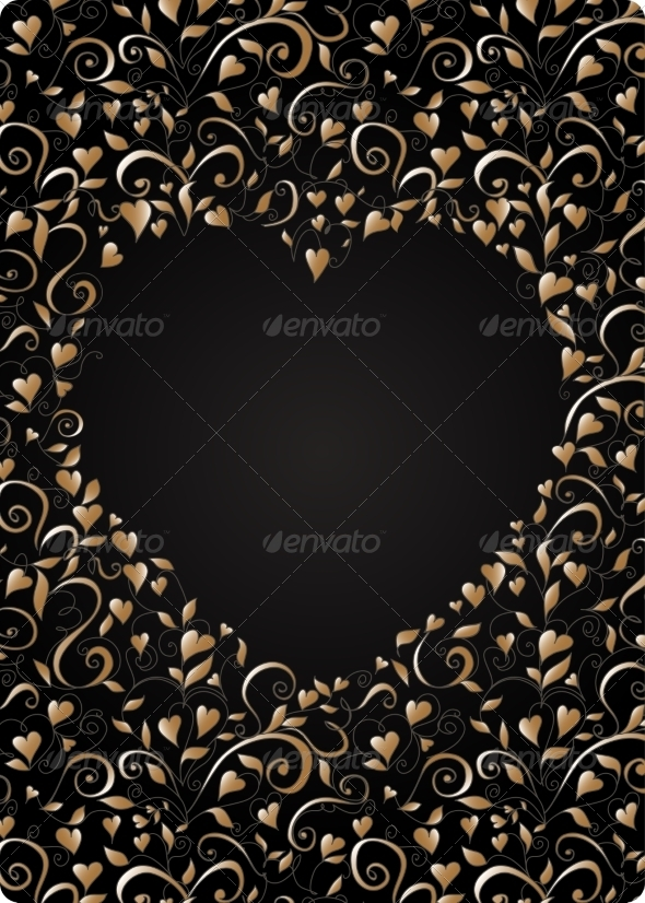 GraphicRiver Heart-Shaped Frame 7191404