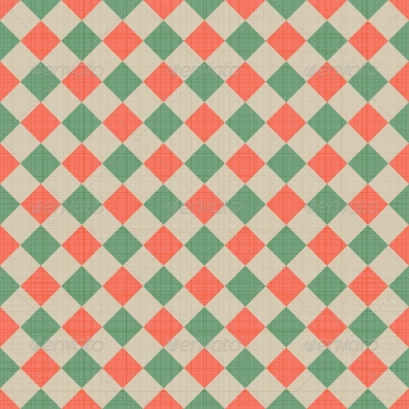 GraphicRiver Seamless Checkered Background 7191425