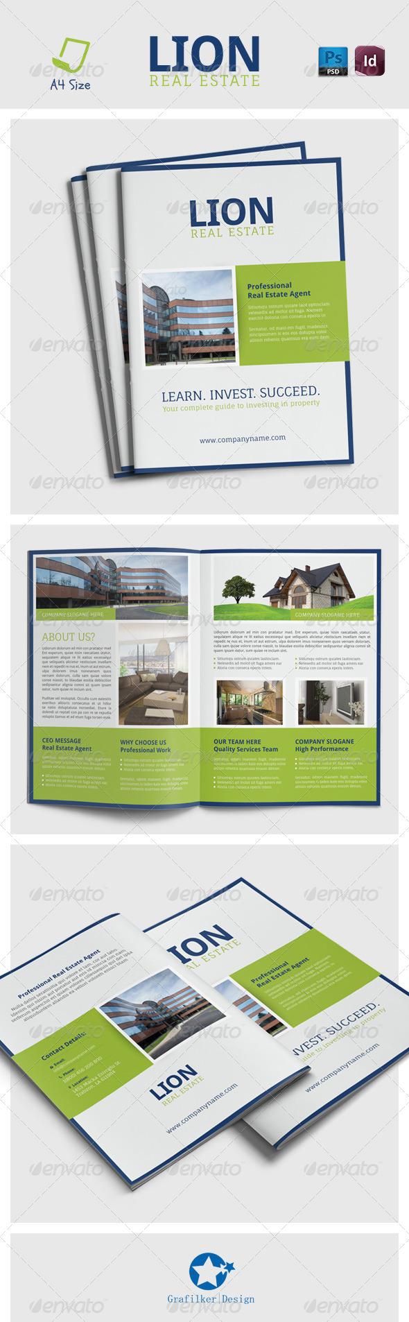 GraphicRiver Real Estate Brochure Templates 7191555