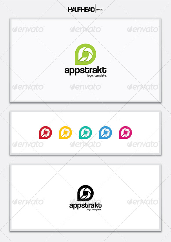 GraphicRiver Appstract Logo Template 7192183