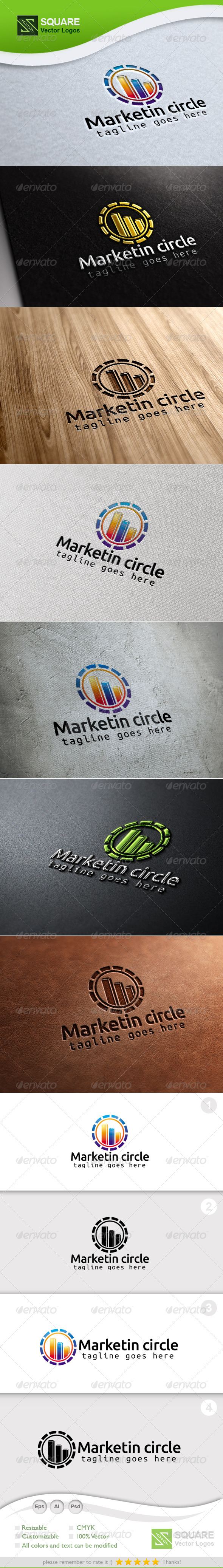 GraphicRiver Market Circle Vector Logo Template 7192209