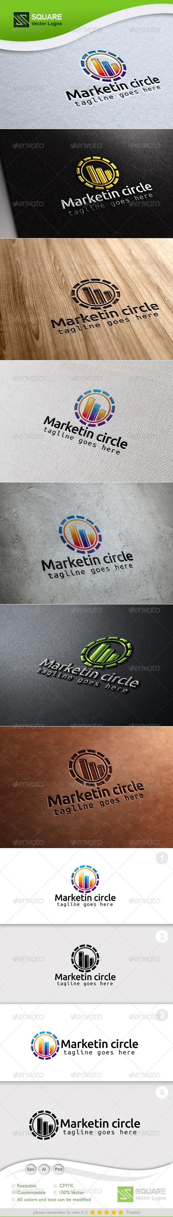 Market, Circle Vector Logo Template - Symbols Logo Templates