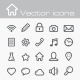 Vector Icons Set - GraphicRiver Item for Sale