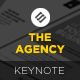 The Agency - Modern Keynote Template - GraphicRiver Item for Sale